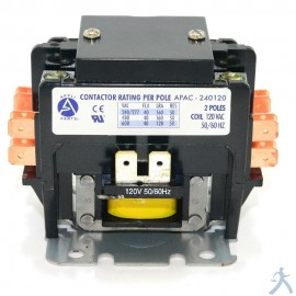 Contactor 2p 40a 120v Apac-240120