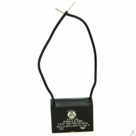 Capacitor 2.5 Mfd Uf 250V 2 Cables