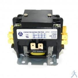 Contactor 2p 20a 240v Apac-220240