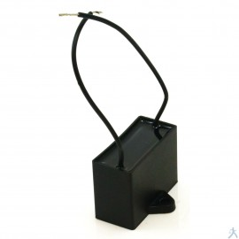 Capacitor 9 Mfd Uf 250V 2 Cables