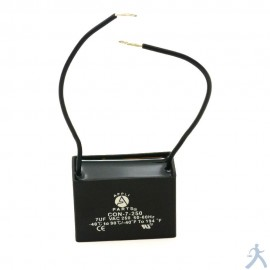 Capacitor 7 Mfd Uf 250v 2 Cables