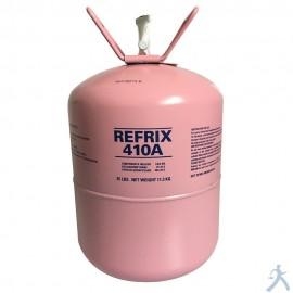 Cilindro Gas R410a 25 Lbs/11.3kg Tazzeti