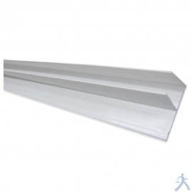 Brida Tipo F De Pvc Para Panel Ducto
