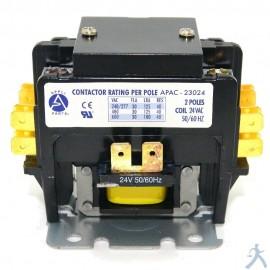 Contactor 2P 30A 24V Apac-23024