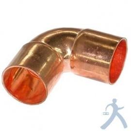 Codo Cobre Sold 90° 3/4 Corto Ctp-C034