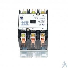 Contactor 3p 20a 24v Apac-32024