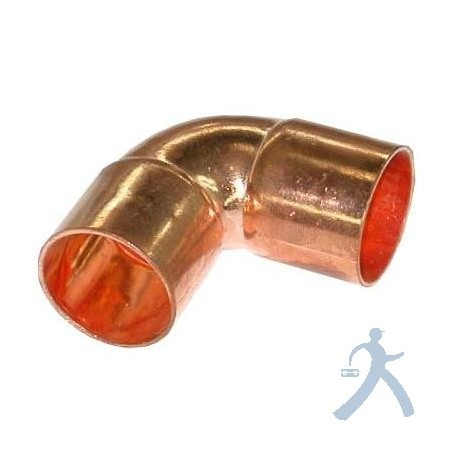 Codo Cobre Sold 90 3/8 Ctp-C038