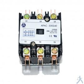 Contactor 3P 30A 240V Apac-330240