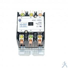 Contactor 3p 30a 24v Apac-33024