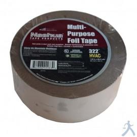 """Tape De Aluminio Nashua 2""""X50Y (Ul)"""