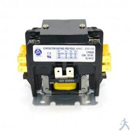 Contactor 2p 30a 120v Apac-230120