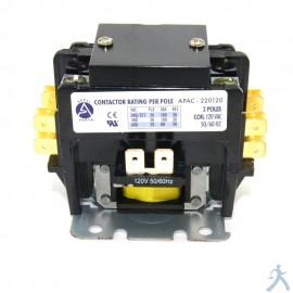 Contactor 2p 20a 120vapac-220120
