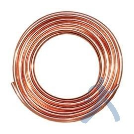 Tubo De Cobre Flexible 1/4in Ctp