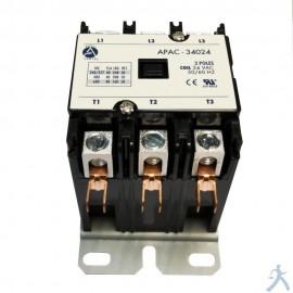 Contactor 3p 40a 24v Apac-34024