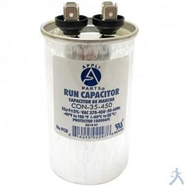 Capacitor 35 Mfd Uf 370-450v Redondo