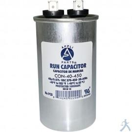 Capacitor 40 Mfd Uf 370-450v Redondo