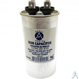 Capacitor 30 Mfd Uf 370-450v Redondo