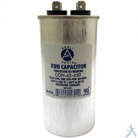 Capacitor 45 Mfd Uf 370-450v Redondo