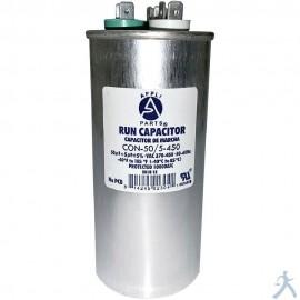 Capacitor 50+5 Mfd Uf 370-450v Redondo