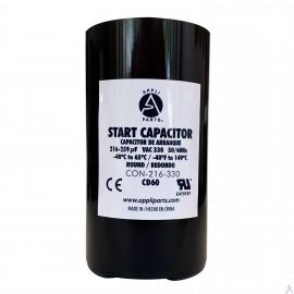Capacitor 216-259 Mfd 330v Uf