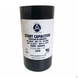 Capacitor 80-106 Mfd 110v Uf