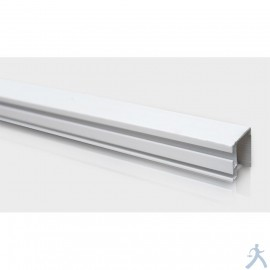 Brida Frontal De Pvc Para Panel Duct